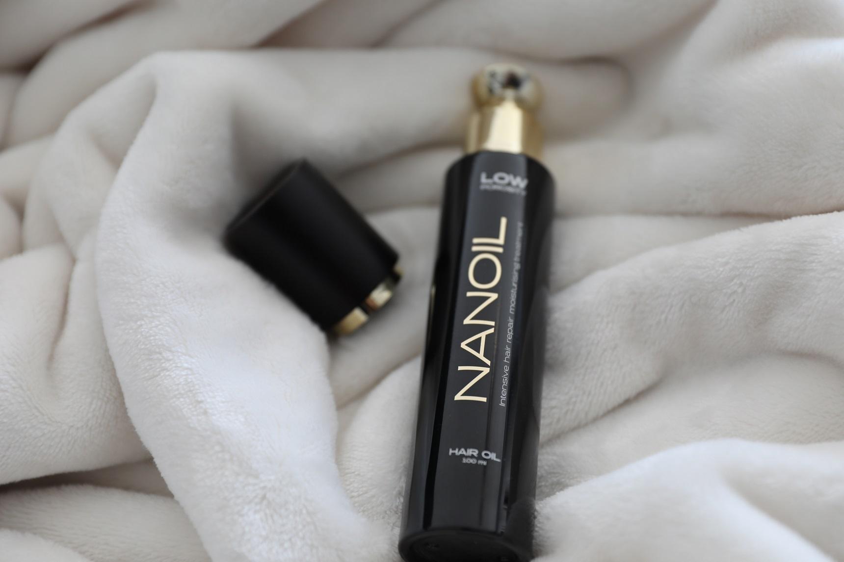 Nanoil - najlepszy do włosów niskoporowatych