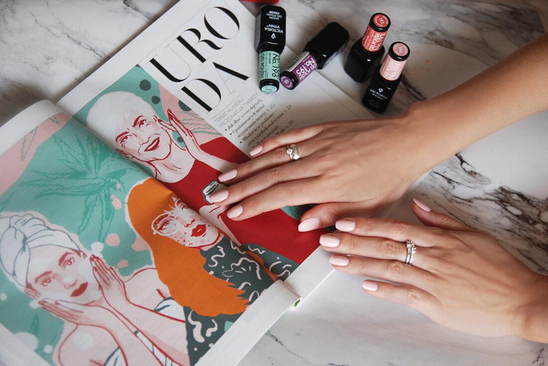 Manicure półhybrydowy