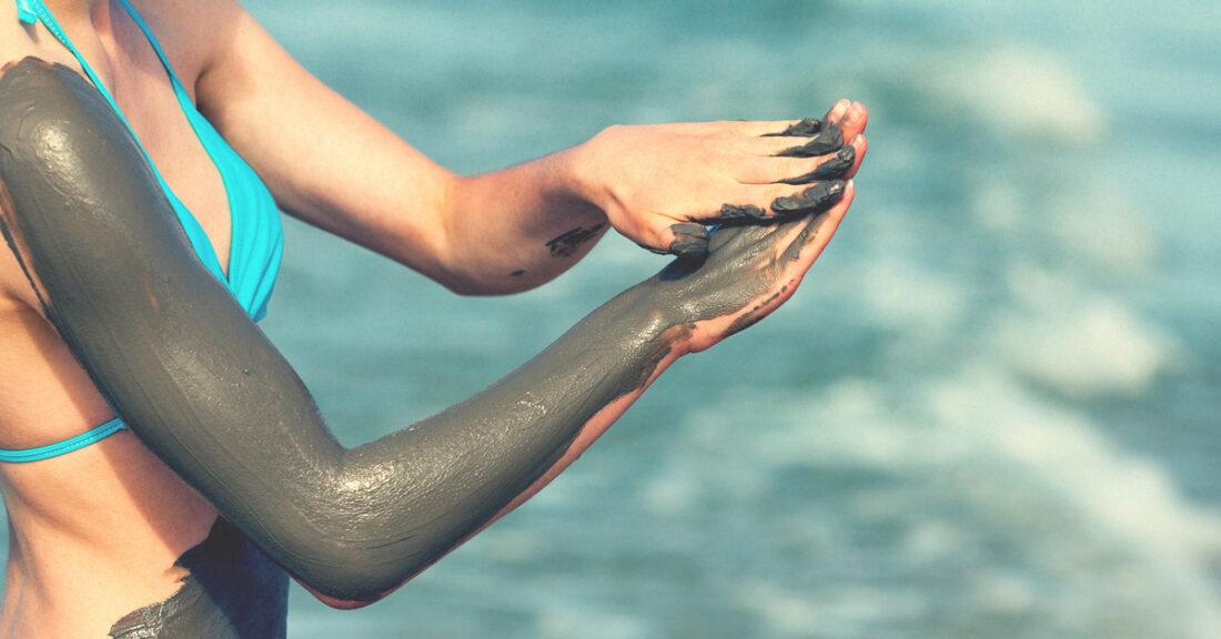 Zastosowanie błota z morza martwego