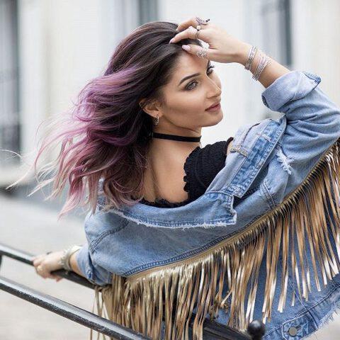 """Makijaż włosów, czyli mój sposób na włosy """"jak od fryzjera"""" w 5 minut"""