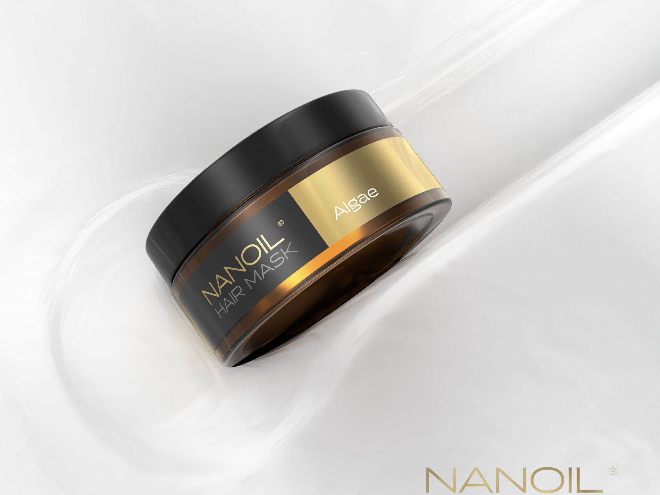 maska na włosy z algami nanoil