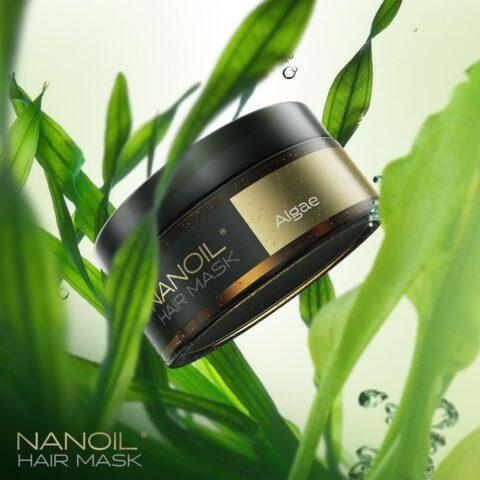 Maska Nanoil z algami morskimi. To tego potrzebują moje włosy!