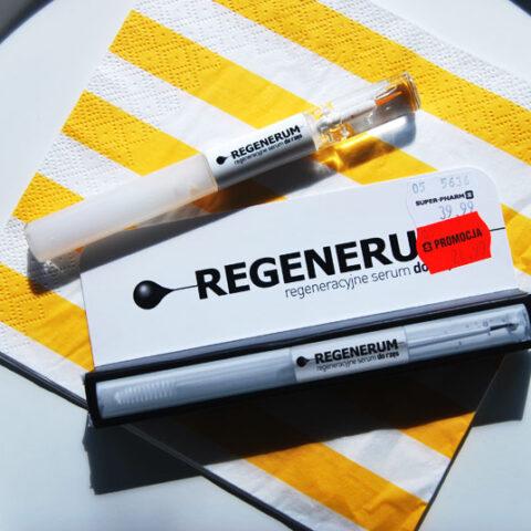 Regeneracyjne serum do rzęs REGENERUM – zapowiedź testu